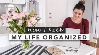 How I Keep my Life Organized & Daily Organization Tips  | by Erin Elizabeth