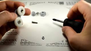 Двойной ролик B27 для душевых кабин(, 2017-02-06T11:51:47.000Z)