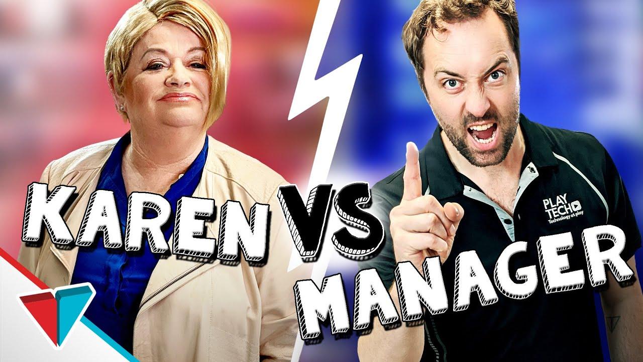 Karen vs Manager