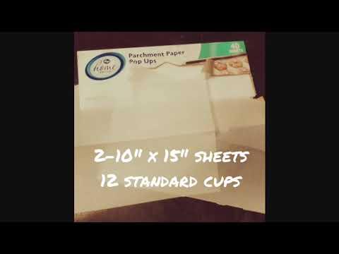 DIY Muffin and Cupcake Liner