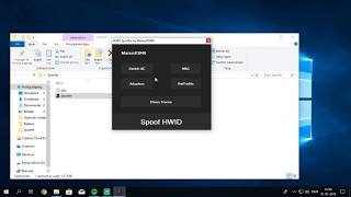 Hwid spoofer working