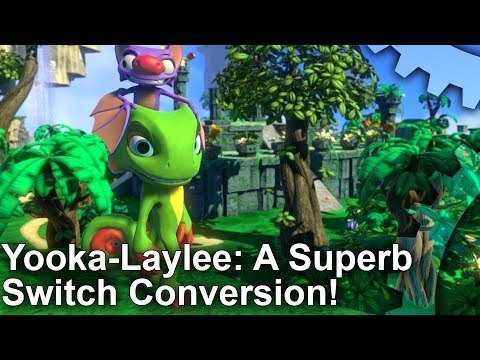Yooka-Laylee on Switch - It's a Superb Conversion!