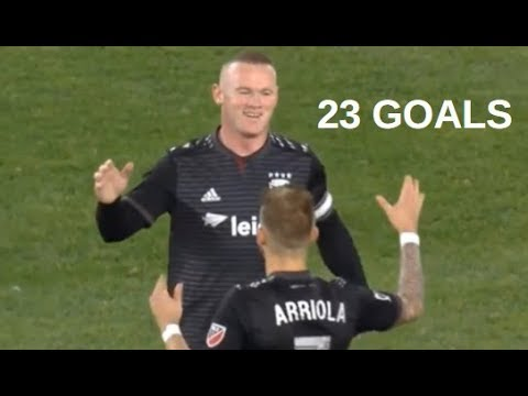 Wayne Rooney 23 Goals with D.C. United 2018/19