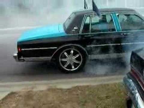 Panthers Box Chevy BurnOut