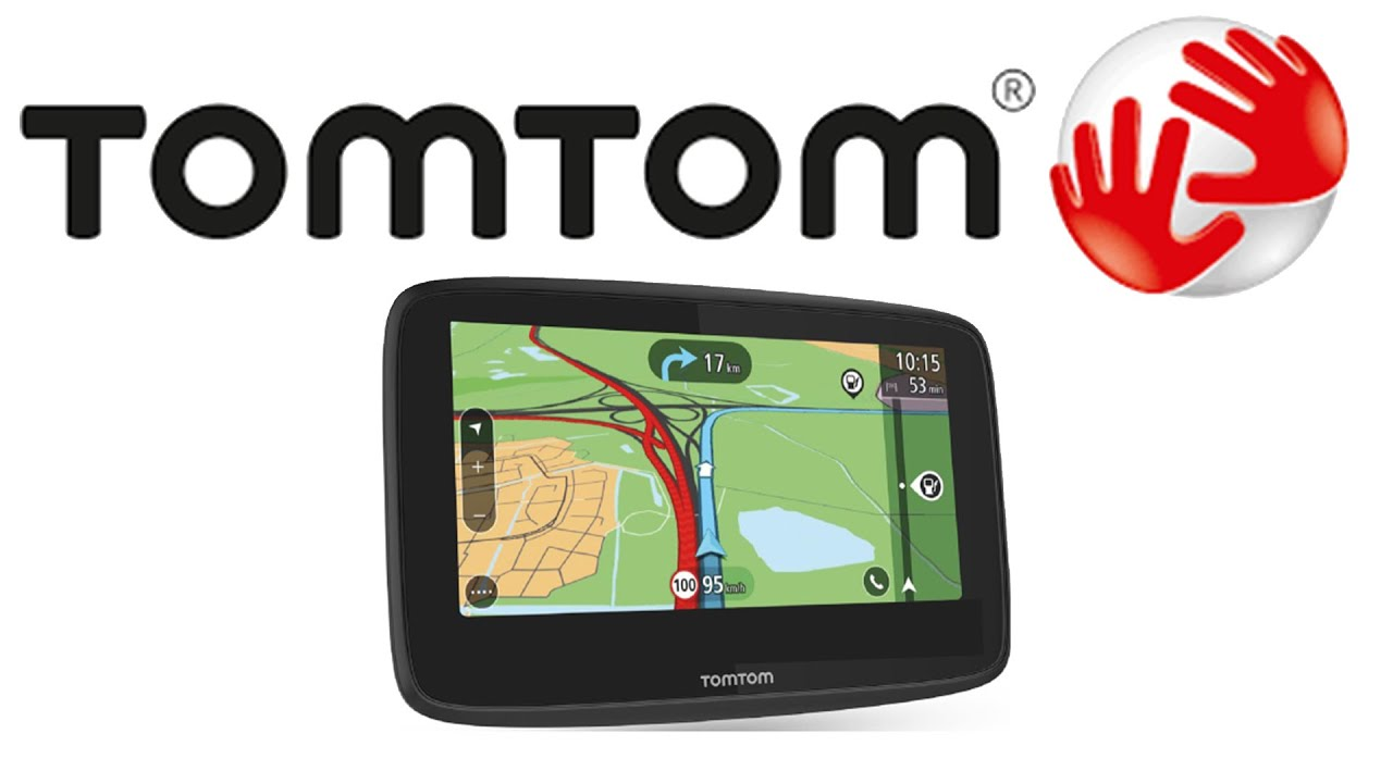 Updating maps on tomtom