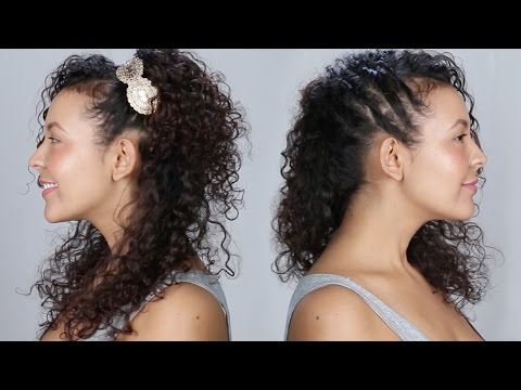 1 Woman, 10 Curly Hairstyles