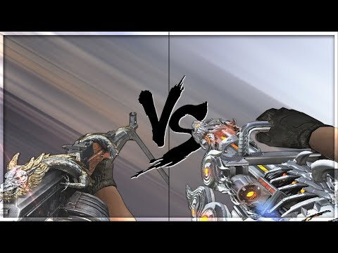 CrossFire 2.0 : GATLING GUN-INFERNAL DRAGON Vs RPK-VIP [VVIP Machine Gun Comparison]