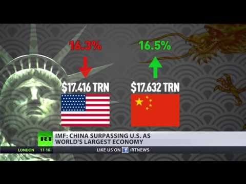 IMF Prediction: China to surpass US as world's largest economy