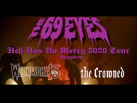 THE 69 EYES - 'Hell Has No Mercy' Tour 2020 (OFFICIAL TOUR TRAILER)
