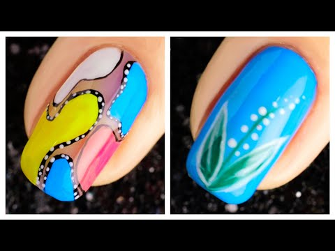 Simple Nail Art Design 2019 Compilation | Cute Nails Art Ideas For Beginners #2