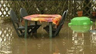 Inondations dans le Nord : caves inondées et routes coupées