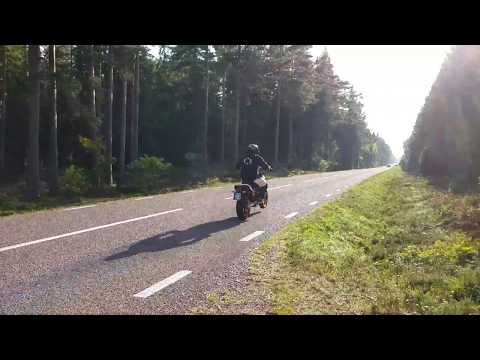 KTM 690 SMC R PURE SOUND wings exhaust