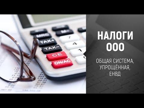 [Налоги] Какие налоги платит ООО. Общая система, УСН, ЕНВД.