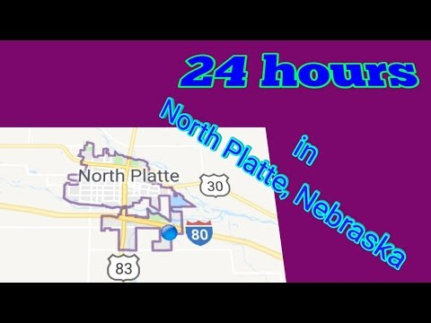 24 hours in North Platte, Ne.