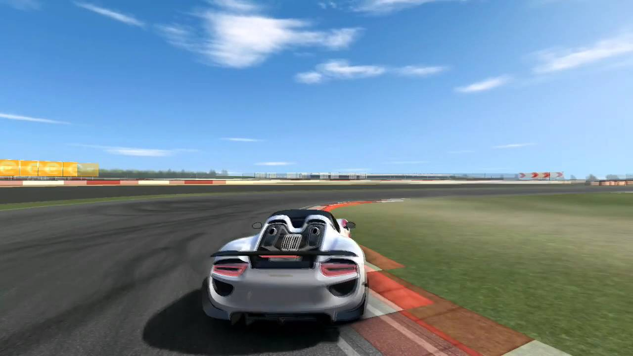 real racing 3 porsche 918 spyder weissach package time. Black Bedroom Furniture Sets. Home Design Ideas