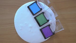 Mixing Makeup Eyeshadow Into Slime/ОКРАСКА СЛАЙМА/Тени для Век/СЛАЙМ ВИДЕО АНТИСТРЕСС!❤