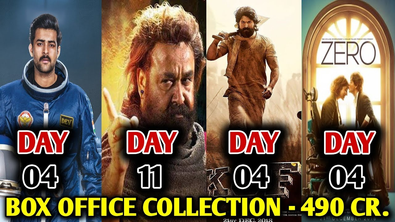 Box Office Collection Zero Kgf Antariksham Odiyan Zero Movie