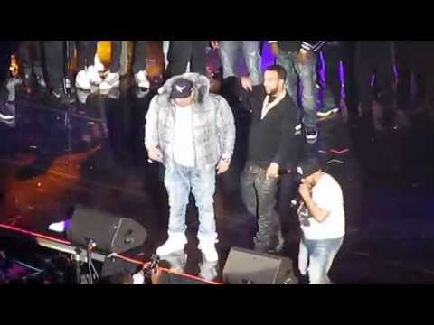 Fat Joe, Remy Ma, French Montana - Lean Back Prudential Center December 3, 2016 Hot For the Holidays