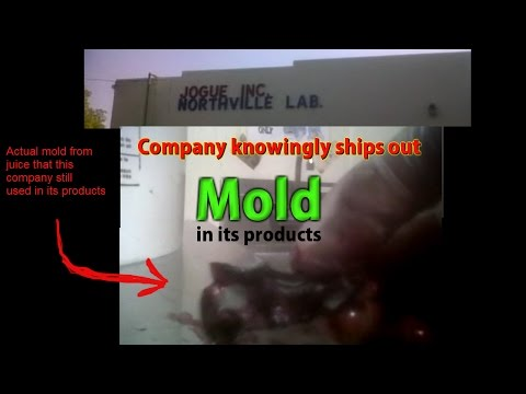 Company knowingly ships out Highly Contaminated Drinks and Flavors