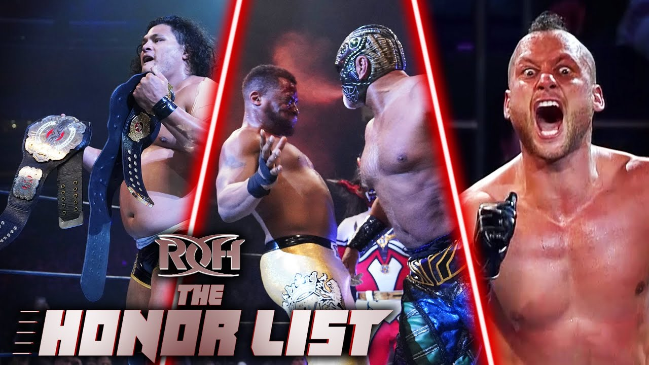 6 Greatest ROH Moments from the G1 Supercard! ROH The Honor List