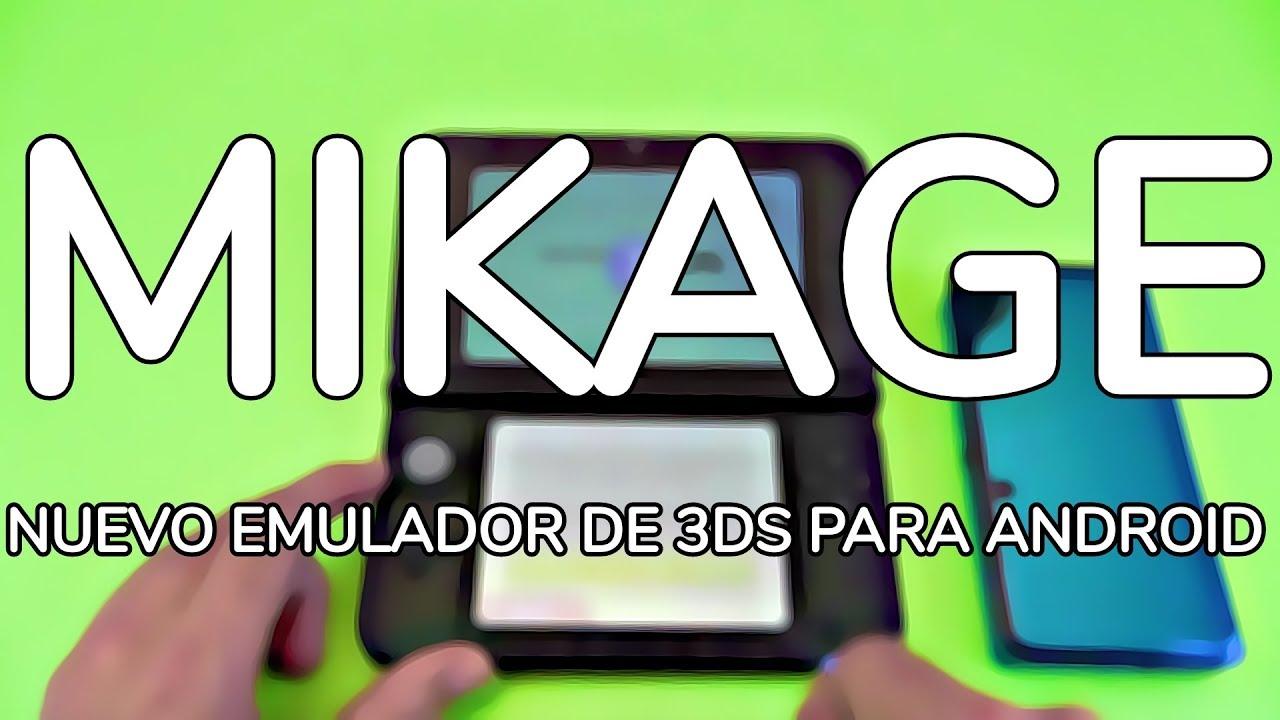 Mikage: Emulador de Nintendo 3DS para Android