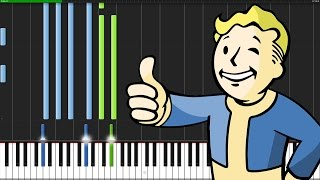 Main Theme - Fallout 4 [Piano Tutorial] (Synthesia)