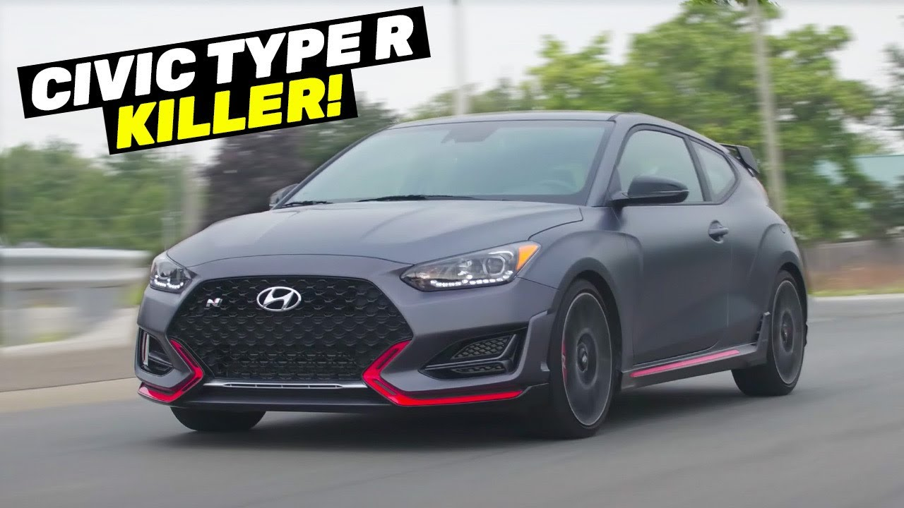 The New FWD HOT HATCH KING - Hyundai Veloster N DCT Track Review