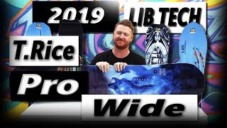 Gambar cover 2019 Lib Tech T Rice Pro HP Wide Snowboard