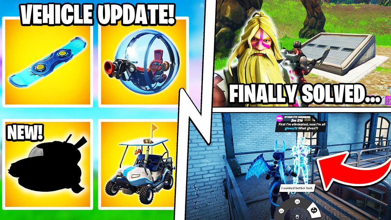 The VEHICLE Update: Baller, Hoverboard, Bunker Story SOLVED!