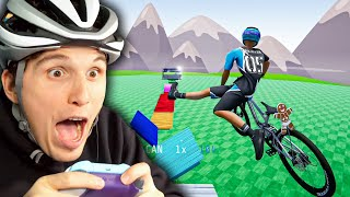 Der FAHRRAD Simulator CARTOON Parkour 2.0
