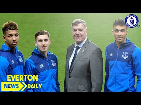 Young Trio Sign New Deals | Everton News Daily