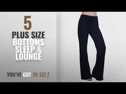 Plus Size Bottoms Sleep Lounge Hde Womens Cotton Pajama Wide Sleepwear Casual