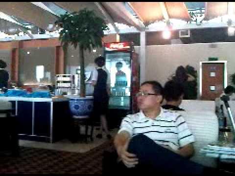 Beijing airport lounge