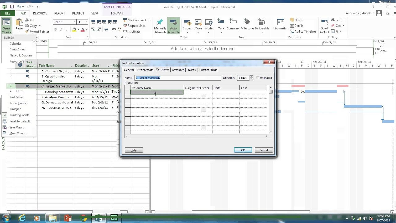 Tracking gantt chart assigning resources and lags in ms project a tracking gantt chart assigning resources and lags in ms project a youtube geenschuldenfo Gallery