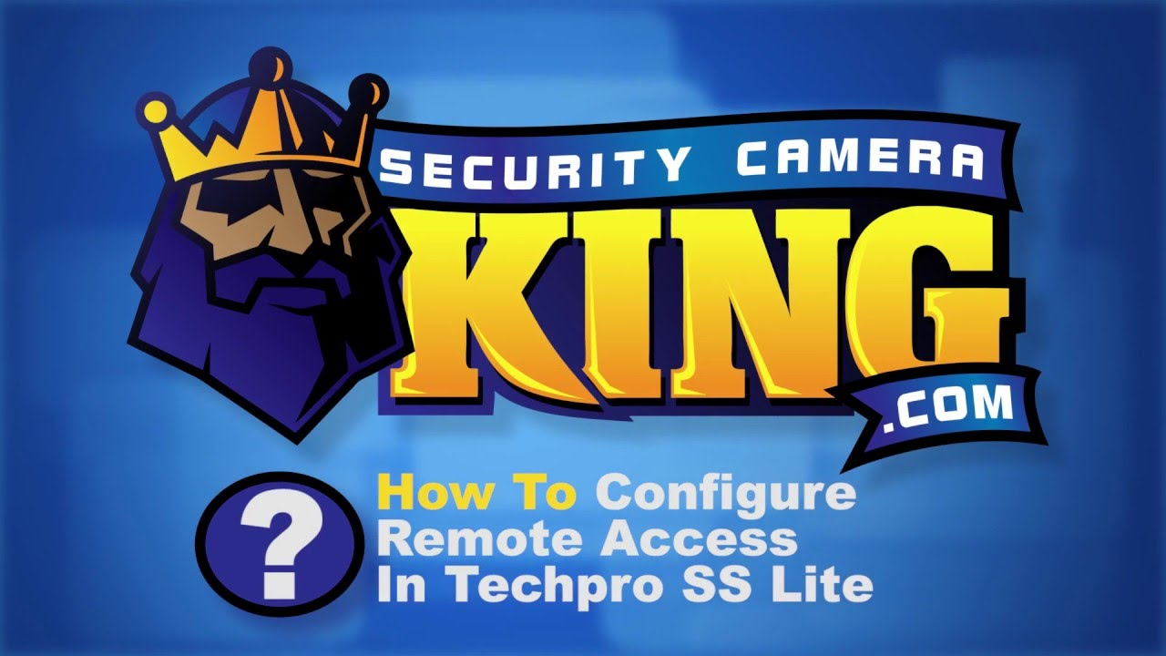 How To Configure Remote Access In Techpro SS Lite