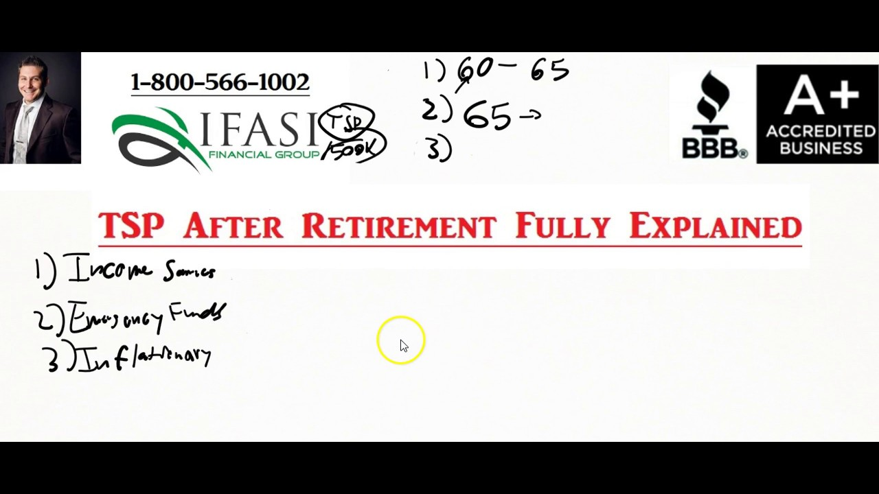 TSP After Retirement - Thrift Savings Plan After Retirement