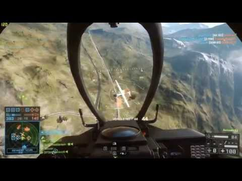 Battlefield 4 Jet 59kills in Gulmod Railway
