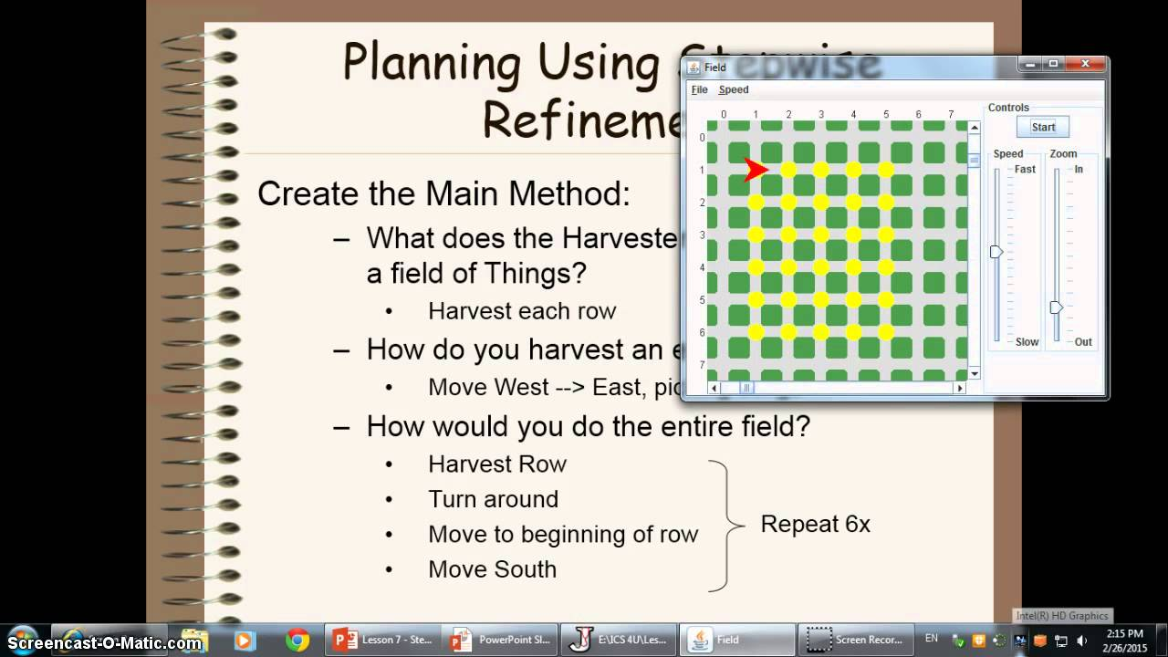 Ics4uo Lesson 7 Stepwise Refinement Youtube
