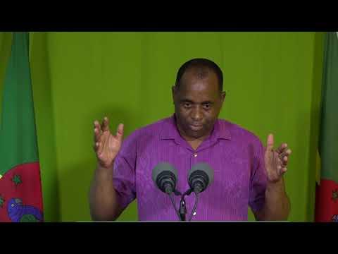 Oct. 4 - Press Briefing: Roosevelt Skerrit - Prime Minister of Dominica