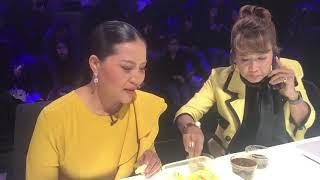 sunaree-สุนารีกับคุณศิรินทรา-กินน้ำปลาหวานกลางรายการ