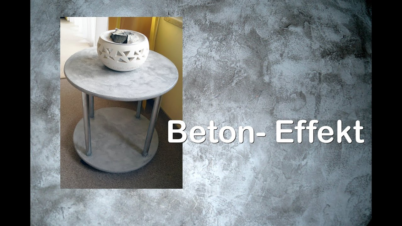 beton effekt paste ruthvong youtube. Black Bedroom Furniture Sets. Home Design Ideas