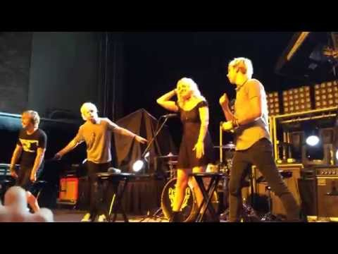 R5 Freeze Dance/Dance Party during Q&A at Rams Head Live in Baltimore MD 9/8/14