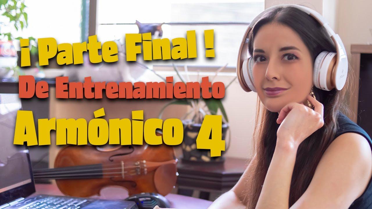 Entrenamiento Armónico FINAL - ¡Última parte de la serie Violín Lofi antes de entrar a Navidad!