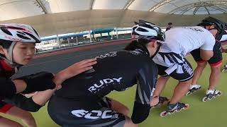 let's go skate in Nonsan track with Tiger Kim  (pascal briand vlog 193)