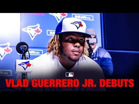 Vladamir Guerro Jr's wild MLB Debut