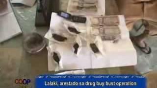 Lalake dakup sa drug buy bust operation