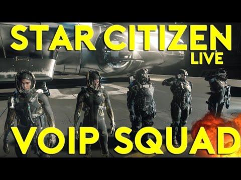 SQUAD VOIP BACK | Star Citizen Alpha 2.6.2 Live | 4/5/17 (Star Citizen 2017 PC Gameplay)