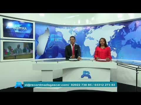 RECORD TV MADAGASCAR Live JOURNAL SOIR 16 DECEMBRE 2019