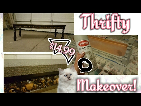 Thrifty Makeover! | $14.99 Coffee Table
