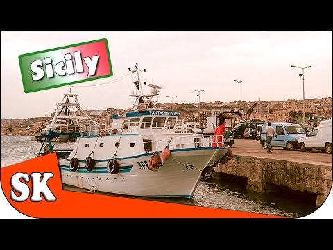 A VISIT TO A SICILIAN FISHING VILLAGE - SCIACCA
